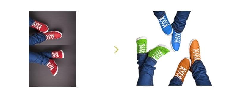 schoenen-omkleuren