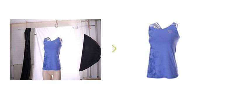 kleding vrijstaand maken