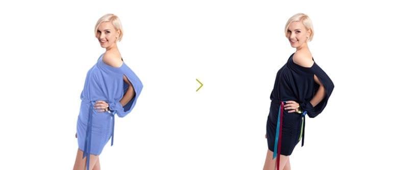 kleding omkleuren