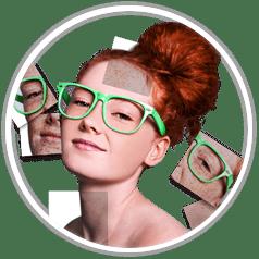 retoucheren gezicht